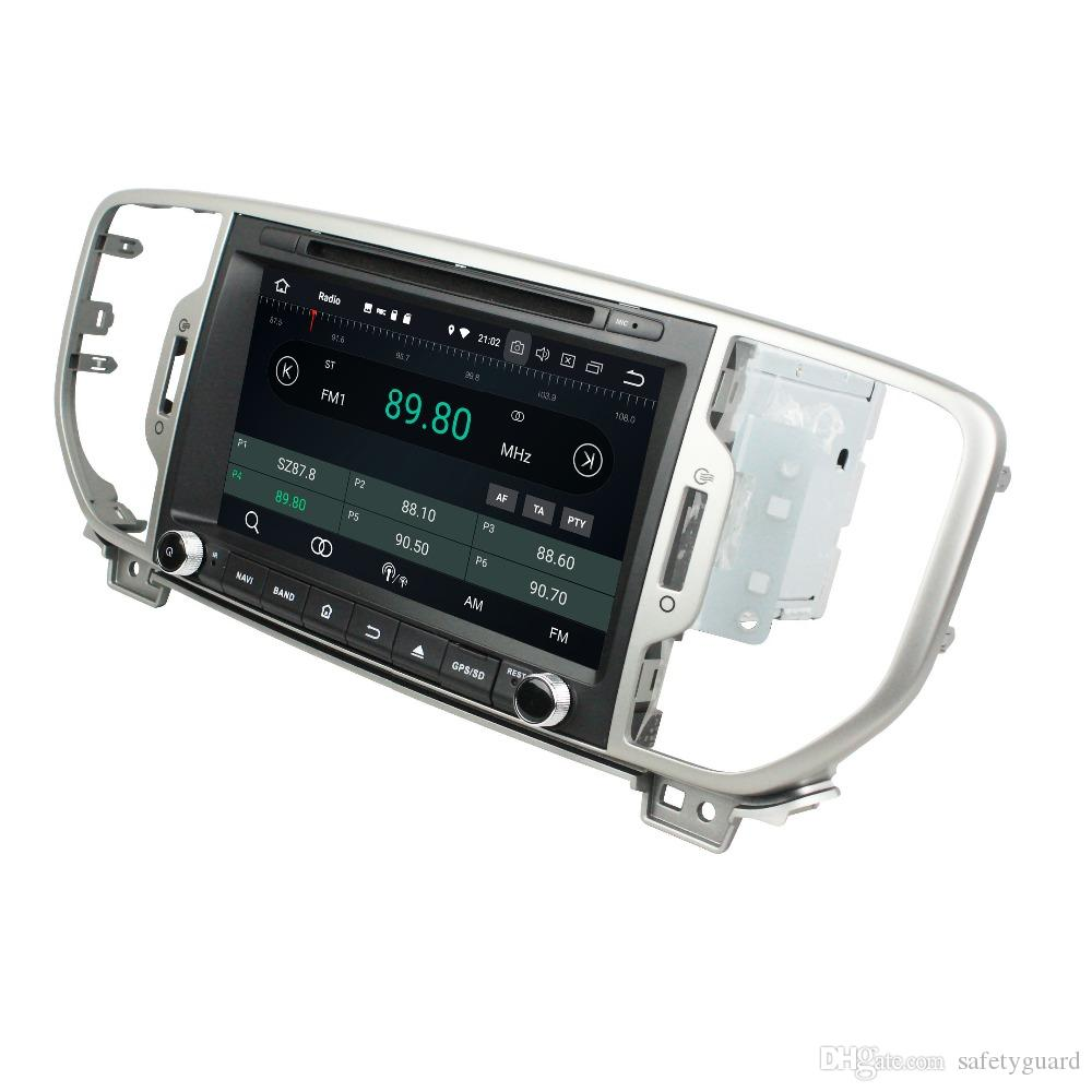 IPS PX5 Octa Core 2 din 8 Android 8 0 Car dvd Radio GPS for Kia Sportage  2016 2017 Bluetooth WIFI USB Mirror-link 4GB RAM 32GB ROM