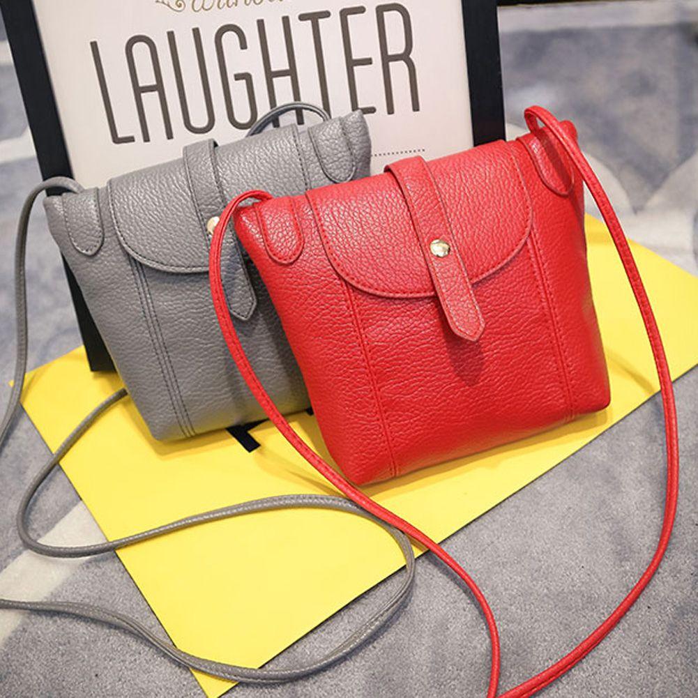 dbd850ca692a Women s PU Leather Handbag Fashion Female Small Messenger Bags New Design  Women Shoulder Bags Candy Color Lady Handbags Clutches