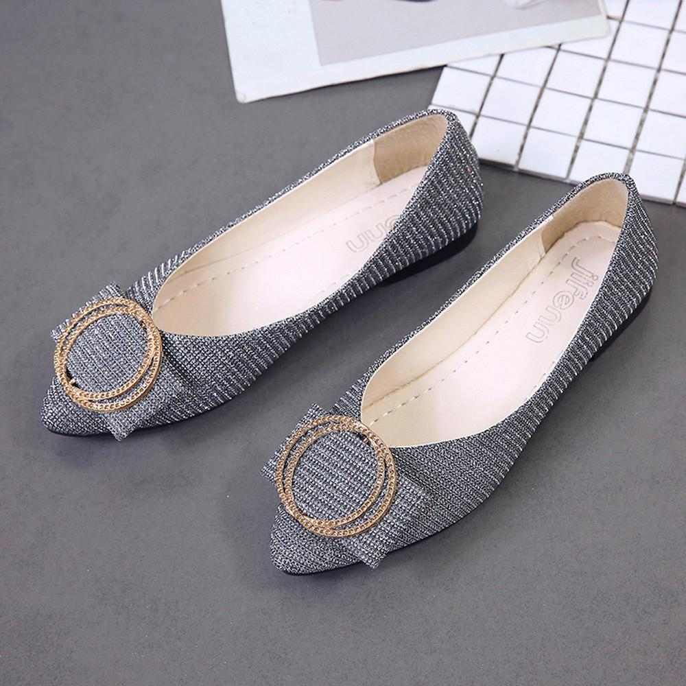 264698b8baf1 Designer Dress Shoes Hot Sale Women Sequins Shallow Slip On Low Heel Party  Pointed Single For Dropshipping Mens Shoes Online Mens Dress Boots From  Bags88