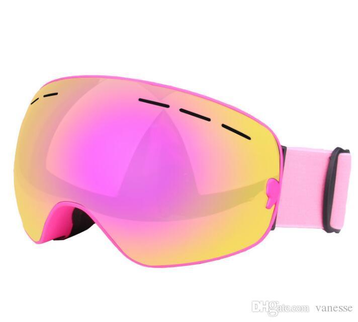 Sports & Entertainment Strict 7 Kinds Kids Ski Goggles Double Layers Anti-fog Uv Snowboard Snowmobile Eyewear Snow Skiing Mask Glasses Girls Boys Goggle Skiing & Snowboarding