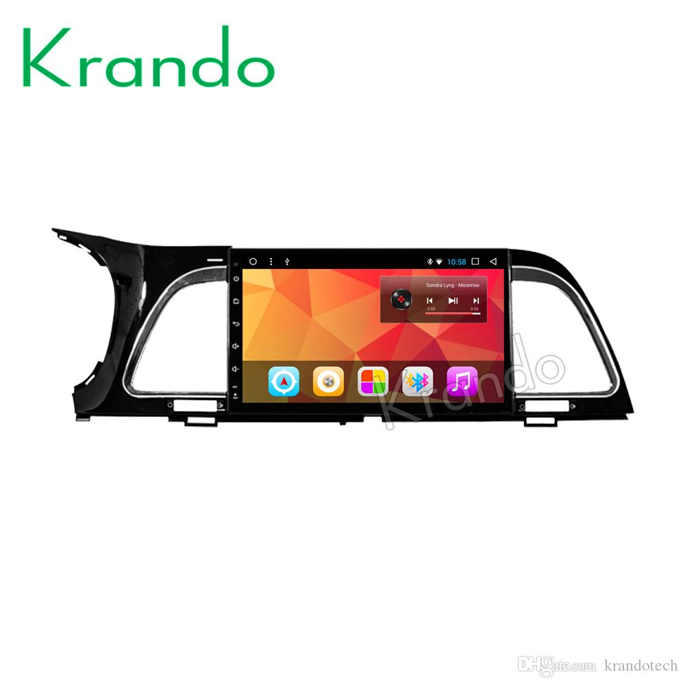 "Krando Android 8.1 10.1"" IPS Full touch Big Screen car multimedia player for KIA K4 2014 radio audio navigation gps BT wifi car dvd"