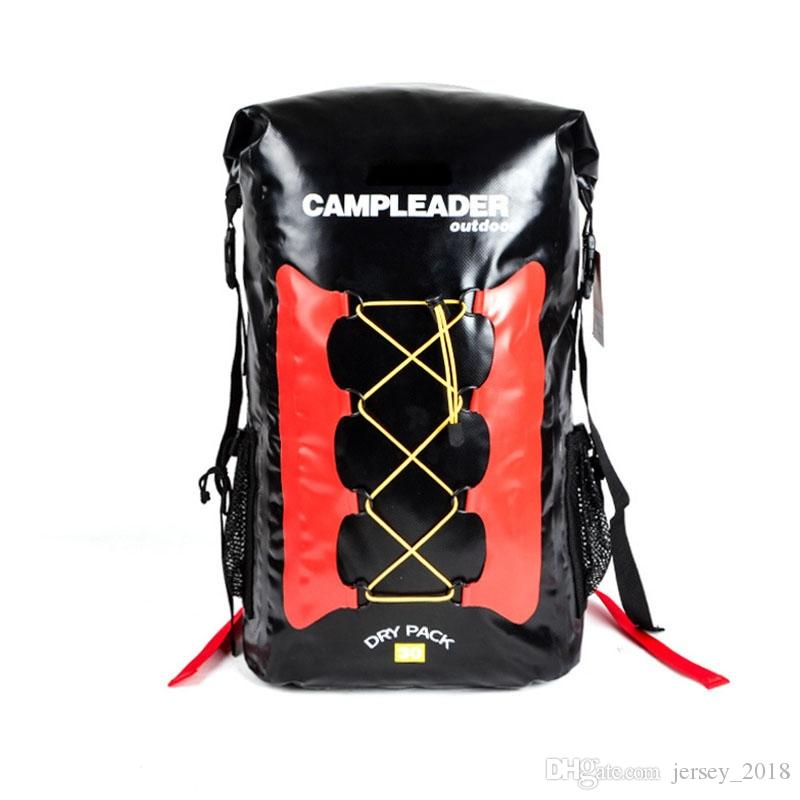 6c36d5a4fc 2019 30L Waterproof Dry Bag Backpack Laptop Bag Roll Top For Outdoor  Trekking Hiking Water Sports Kayaking Camping Fishing Boating  123269 From  Jersey 2018