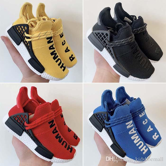 617bff551 Big Kids R1 XR1 Human Race Shoes For Baby Boy Races Sneakers Girl Trainers  Boys Pharrell Williams Running Children Casual Humanrace Shoe Toddler Boys  ...