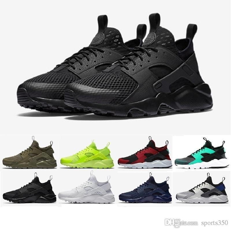 c5d5c353830c 2019 2018 Cheap Air Huarache 2 II Ultra Classical All White And Black  Huaraches 1 4 Shoes Men Women Sneakers Women Shoes Size 36 45 From  Sports350