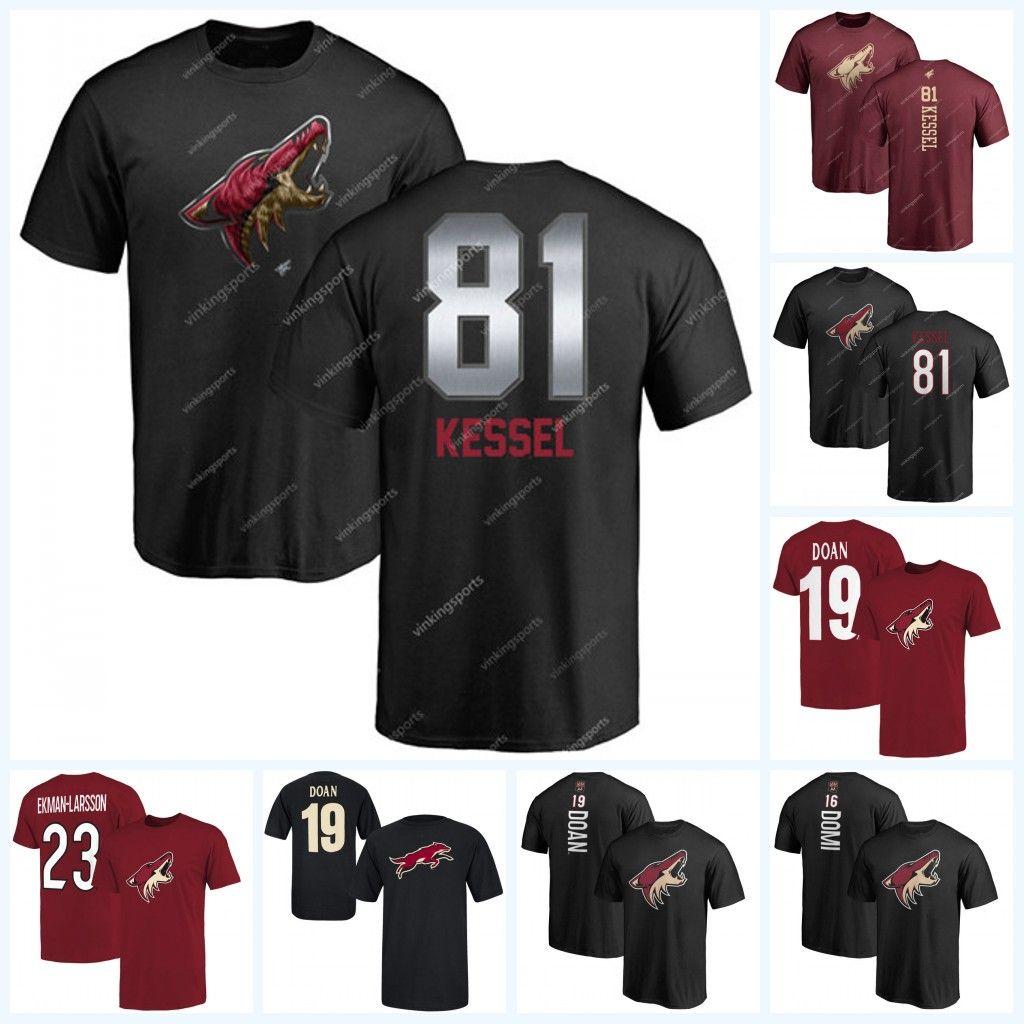 release date 49715 64eb9 81 Kessel Phil Arizona Coyotes Alternate Third T-Shirts Oliver  Ekman-Larsson Clayton Keller Alex Galchenyuk Carl Soderberg Brad Richardson