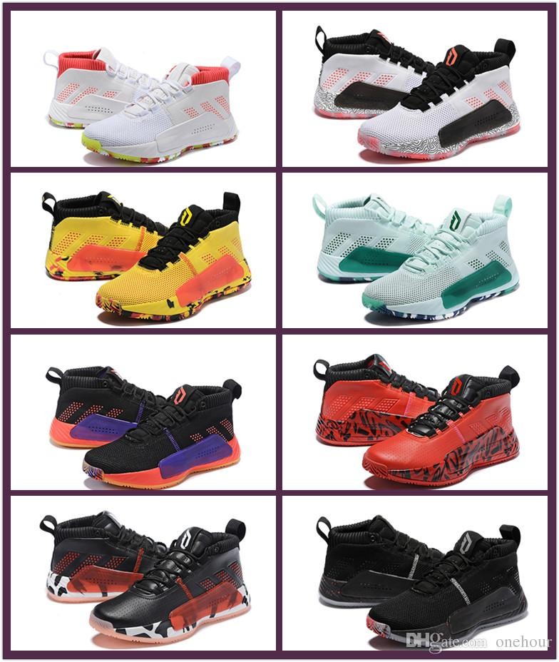 d95f056099337 2019 New Damian Lillard 5 People S Champ All Skate Men Backetball Shoes  Black Yellow Red Mint Green Mens Sports Shoes Trainers Sneakers Shoes For  Sale ...