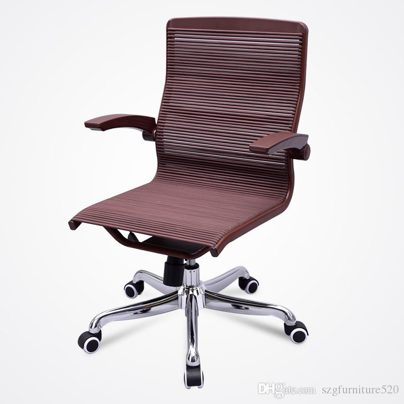 Red Office Chair Home Computer Chair Natural rubber Health chair Ergonomic Adjustable high capacity