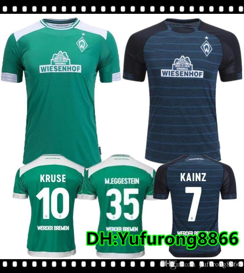 8369382ac2 2018 2019 SV Werder Bremen Camiseta De Fútbol 18 19 Bremen Camiseta De  Local De Visitante KRUSE M. EGGESTEIN OSAKO KLAASSEN PIZARRO Camiseta De  Fútbol Por ...