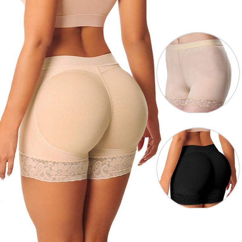 48089c022aa 2019 Hot Shaper Pant Sexy Up Women Fake Ass Safety Trousers Fake Butt Pad  Buttock Shaper Butt Lifter Hip Enhancer From Weskit