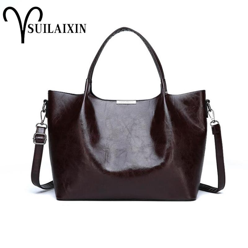 29b41c845cce SUILAIXIN Brand Handbag Women Shoulder Bag Female Large Tote Bags Hobo Soft  Artificial Leather Ladies Crossbody Messenger Bag Shoulder Bags Handbags On  Sale ...