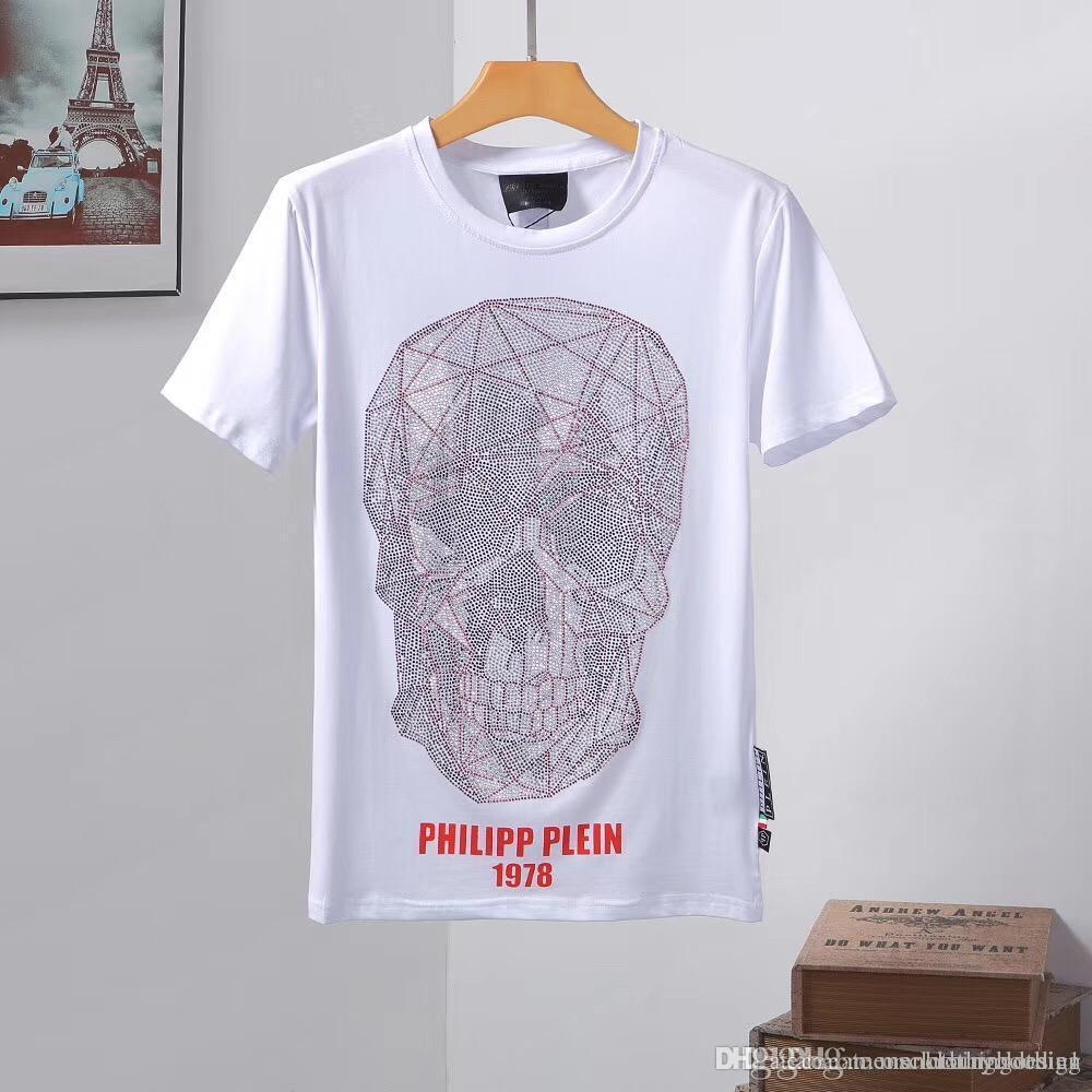6096b5007e3 ds D2 Italian brand men's wear designer T-shirt, summer and autumn fashion  men's wear skeleton pp T-shirt, D2 short-sleeved sports