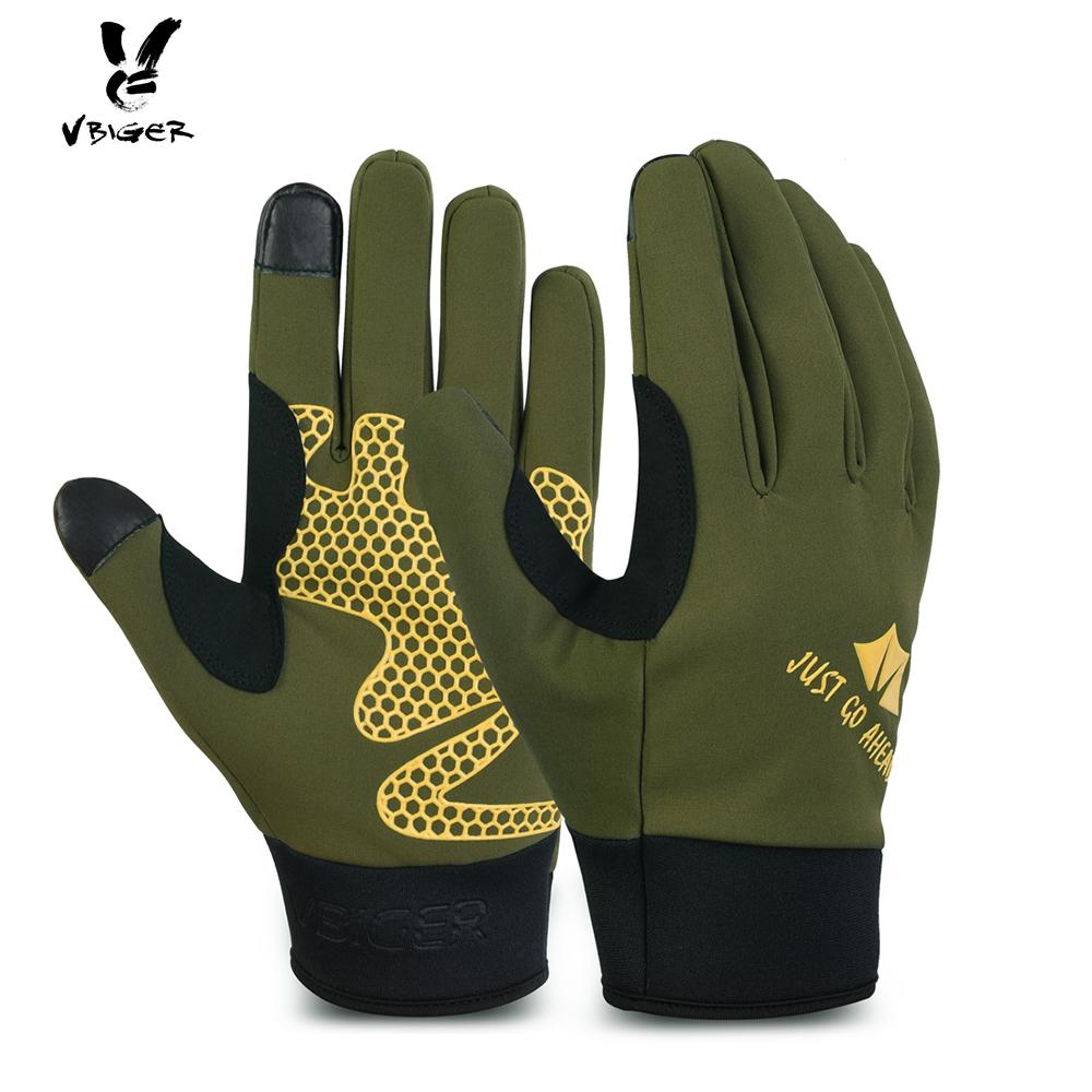 4cc9a42c7df37 2019 VBIGER Men Women Winter Sports Cycling Gloves Full Finger Anti Slip Touchscreen  Gloves Outdoor Windproof Warm Mittens From Huazu, $34.54 | DHgate.Com