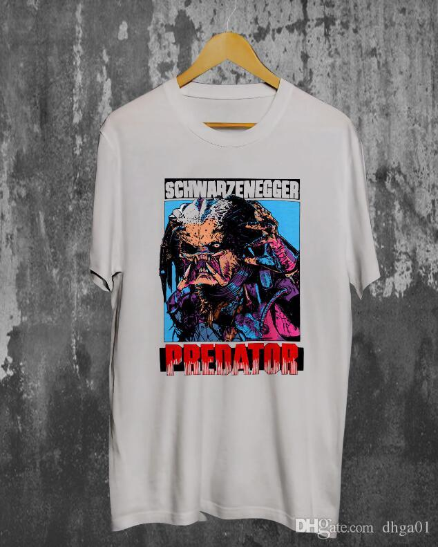 BLAIN/'S CHEWING Tobacco T-shirt Inspired by the Classic 1987 film Predator