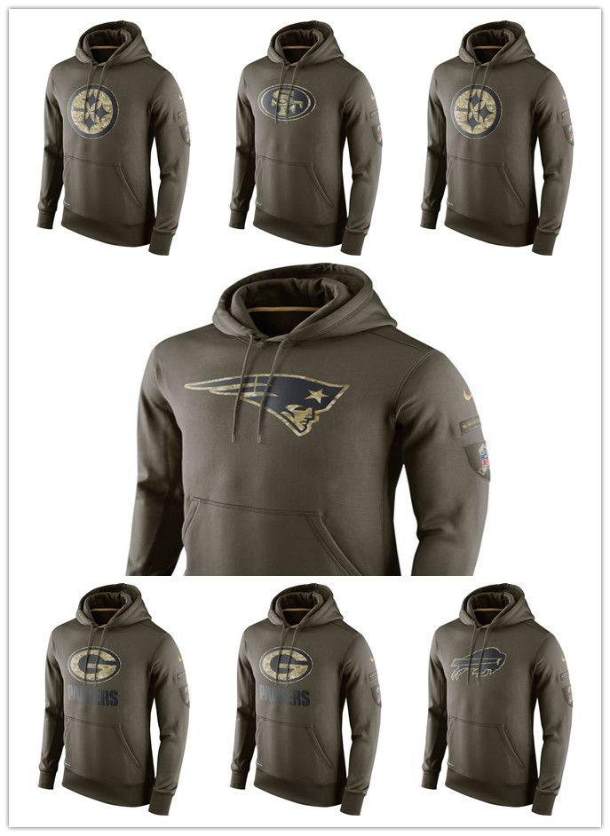 brand new f9fdb ac270 2018 new men hot buy Texas Buffalo Packers Team Patriots 49ers Steelers  Admiral Green Sweater Pullover Hoodie Jacket Sweatshirt