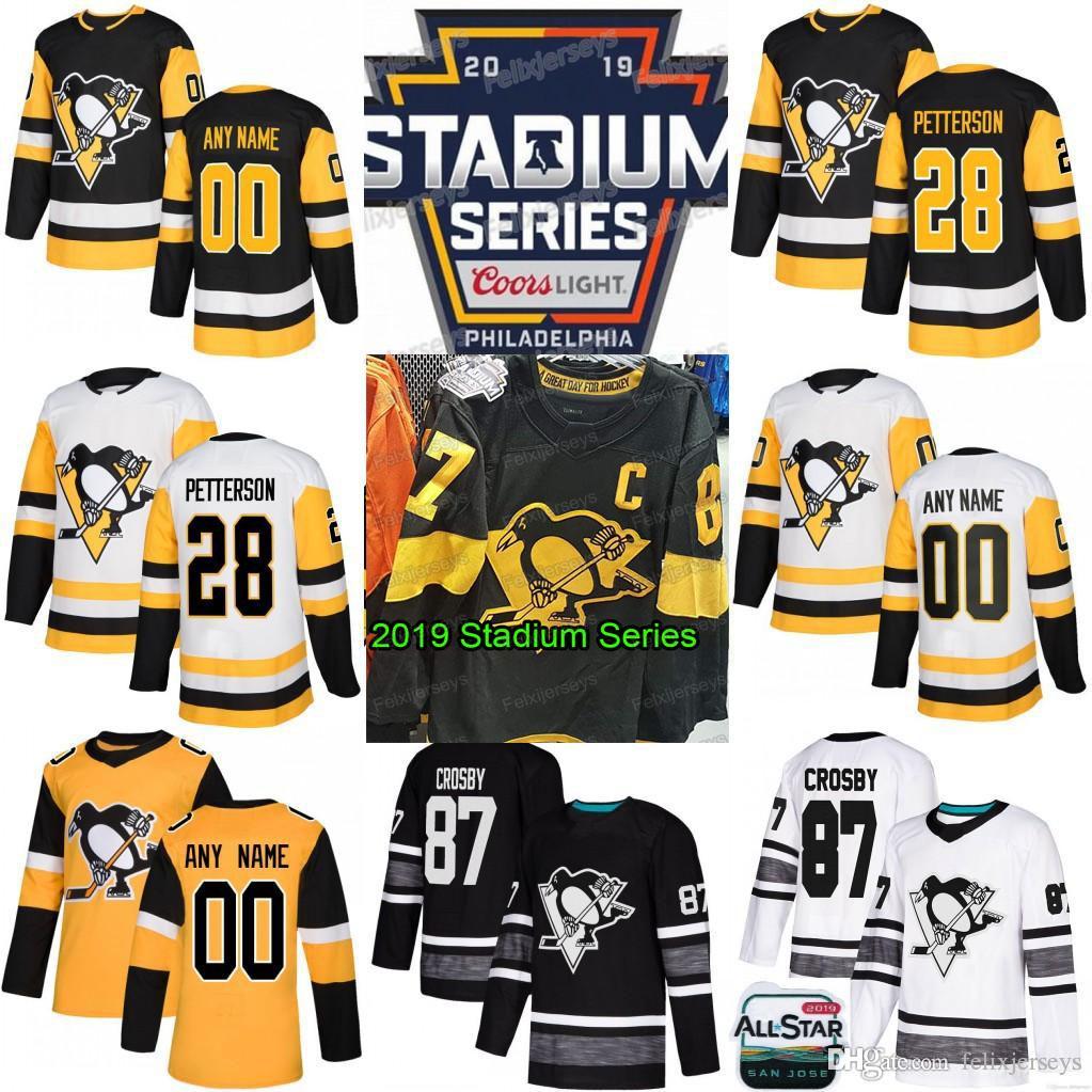 d8d43c2eb 2019 2019 All Star Stadium Series Pittsburgh Penguins Sidney Crosby Jake  Guentzel Evgeni Malkin Phil Kessel Kris Letang Matt Murray Jersey From  Felixjerseys ...