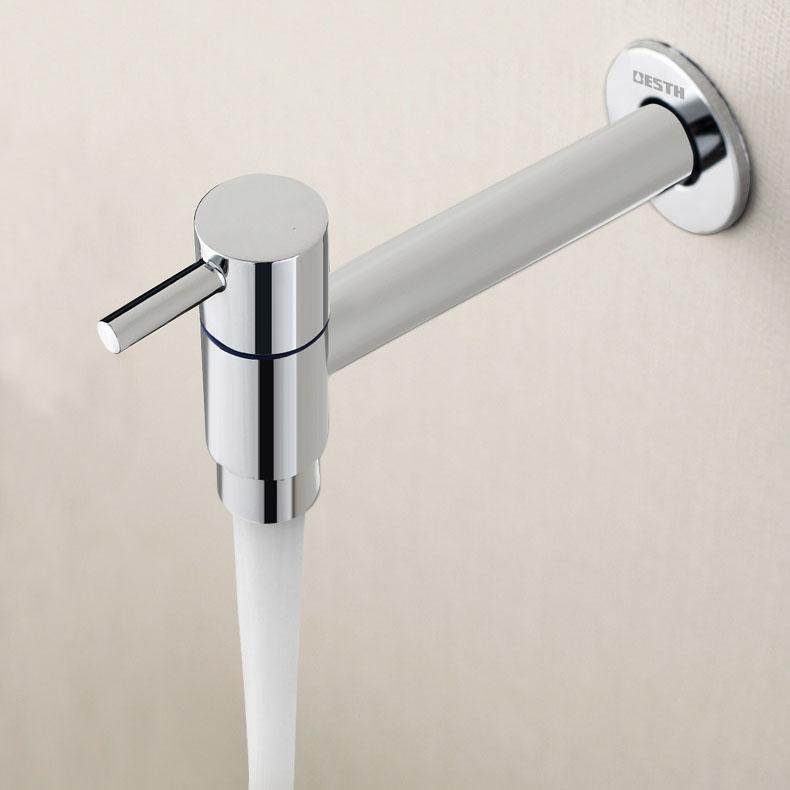 Houmaid Amélioration de l habitat Sanitaires Salle de bains Robinet d eau  froide Mitigeur en laiton Robinets de lavabo fixés au mur pour piscine