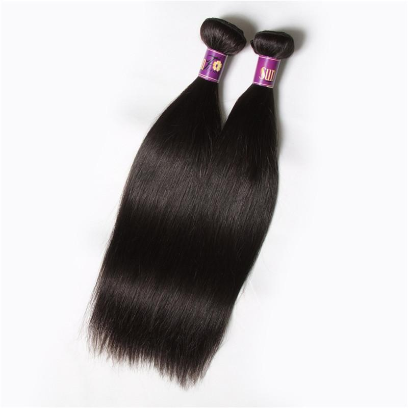 Cambodian Virgin Hair Straight Unprocessed Human Hair silky straight Brazilan Virgin hair 3 pcs/bundles lot Weaving Weaves