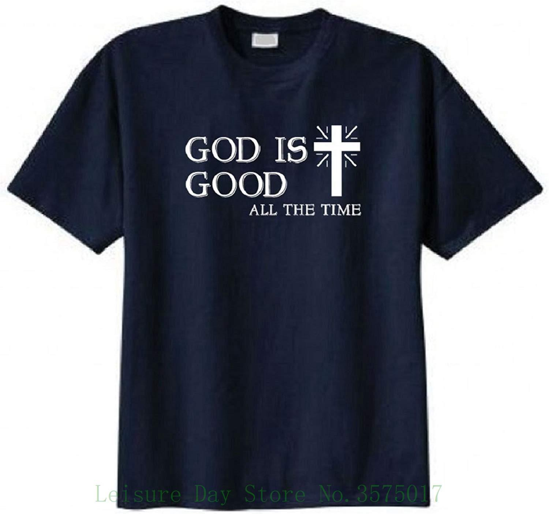 ccdb31eca5 God Is Good All The Time Christian T Shirt T Shirt Novelty Cool Tops ...