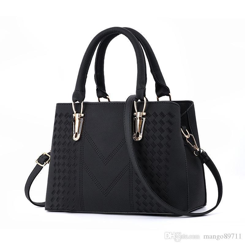 Tasarımcı Kadın Üst kolu Çapraz Vücut Çanta Orta Boy Çanta Dayanıklı Deri Tote Çanta Bayan Omuz Çantaları handbags