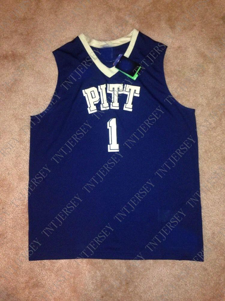 new style 4d2a3 98393 Cheap custom Pitt Panthers Basketball Jersey Stitched Customize any number  name MEN WOMEN YOUTH XS-5XL
