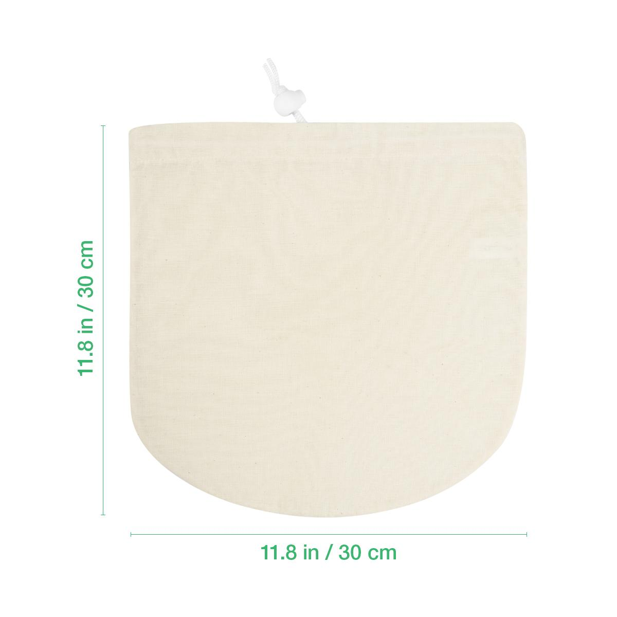 La bolsa de filtro de nylon del tamiz de la comida de la malla fina para el jugo frío del café de la cerveza de la tuerca casera