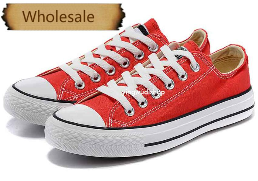 quality Factory price promotional price! femininas canvas shoes women and men,high/Low Style Classic Canvas Shoes Sneakers Canvas Shoe .33