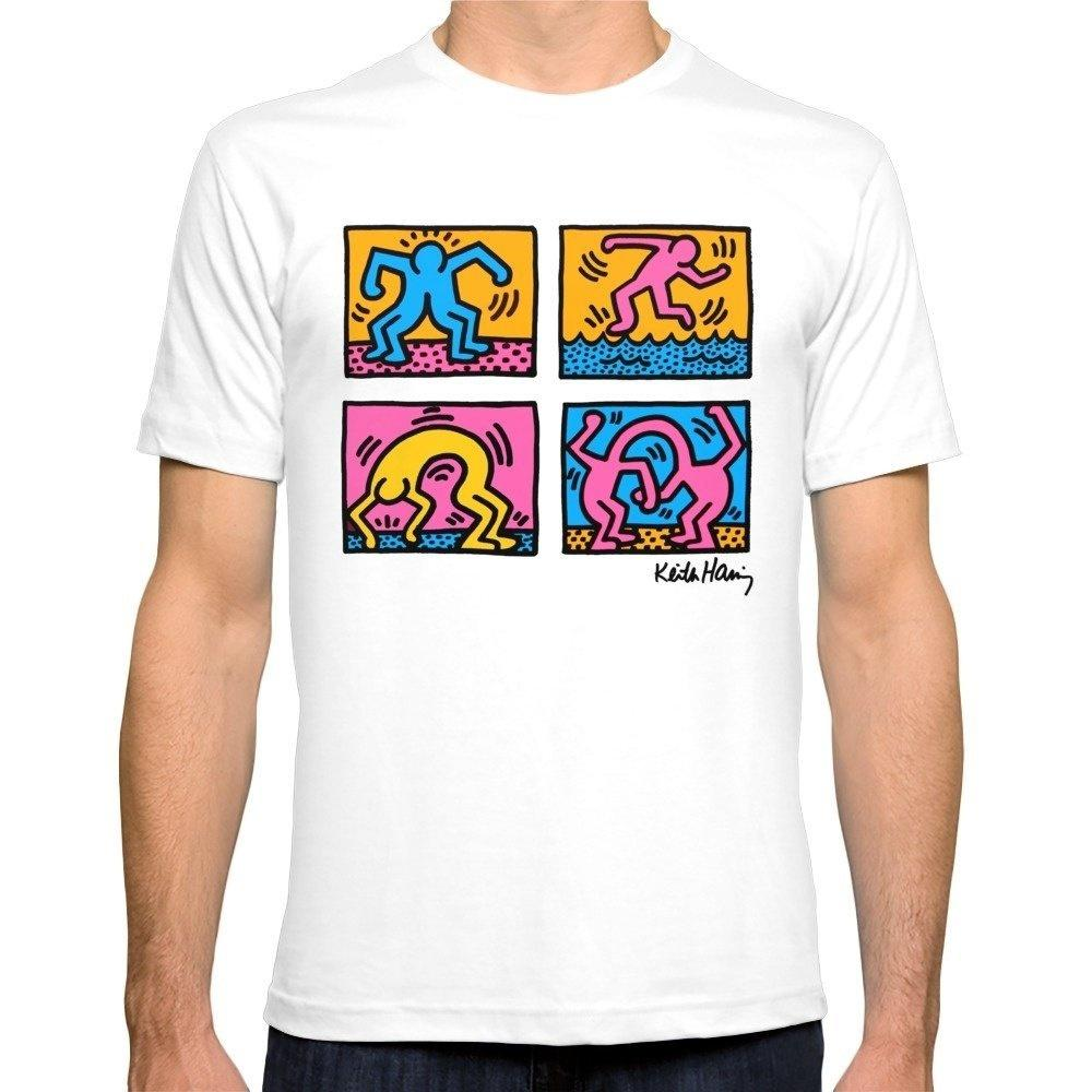 426704b9e835 Keith Haring Pop Shop Men S T Shirt Hot Sale Summer Short Sleeve Tees  Cotton Crew Neck Tops S To 3xl Retro T Shirts Tshirt Designs From  Lontimestore