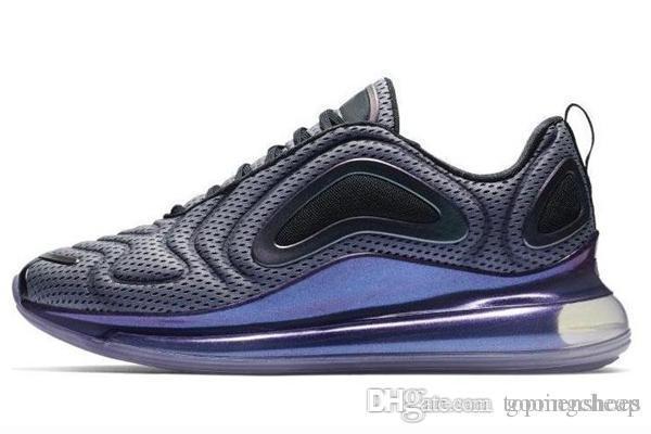 nike air max 720 72c airmax 2019 Zapatos nuevos Zapatos acolchados para hombre, mujer, neón, triple, negro, carbono, gris, al atardecer, metalizado,