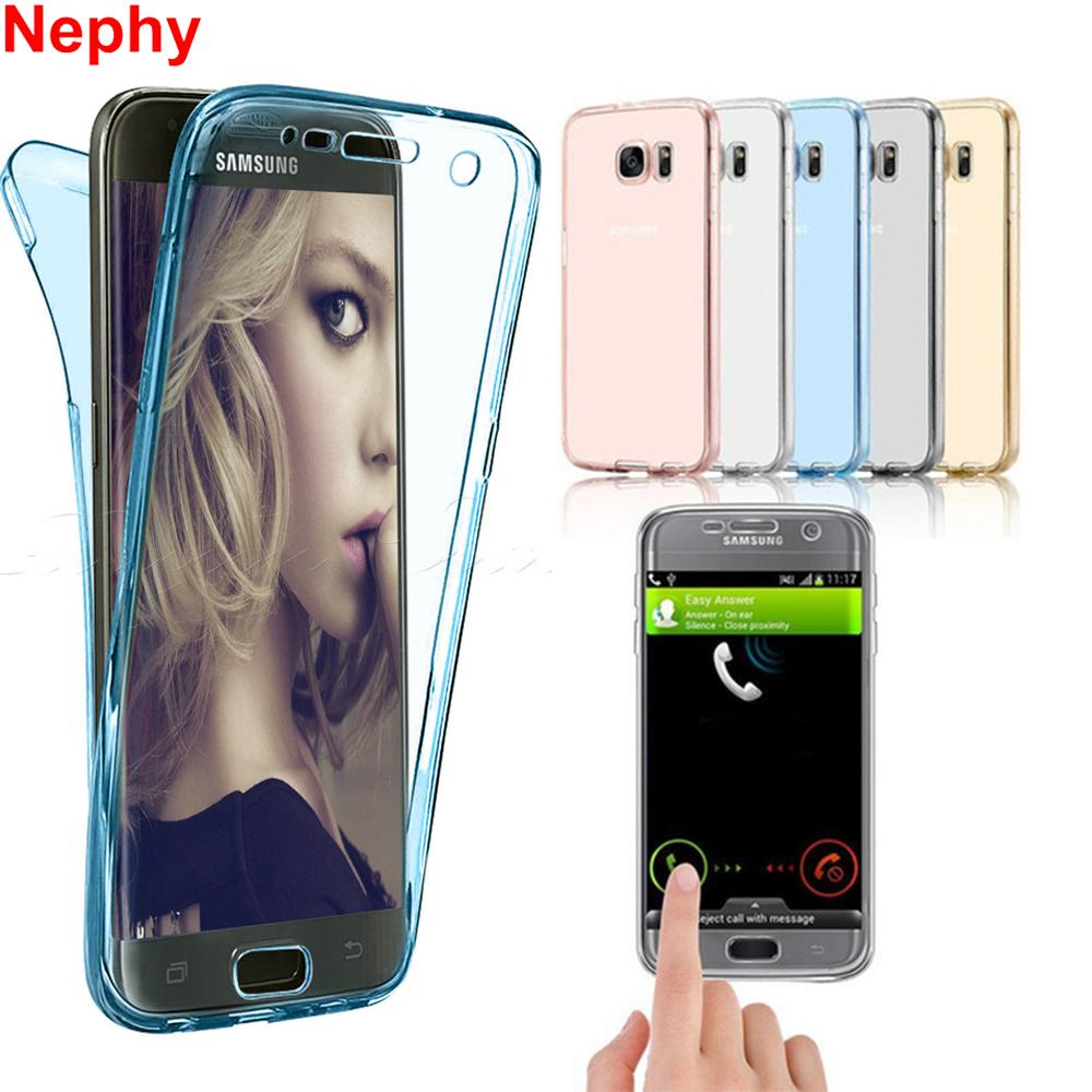 89fd8c66810 Nephy 360 Full Protective Case For Samsung Galaxy J7 Neo Nxt J1 J3 J5 J7  2015 2016 2017 Core Grand Prime Duos Silicon TPU Cover Mobile Phone Cases  Cell ...