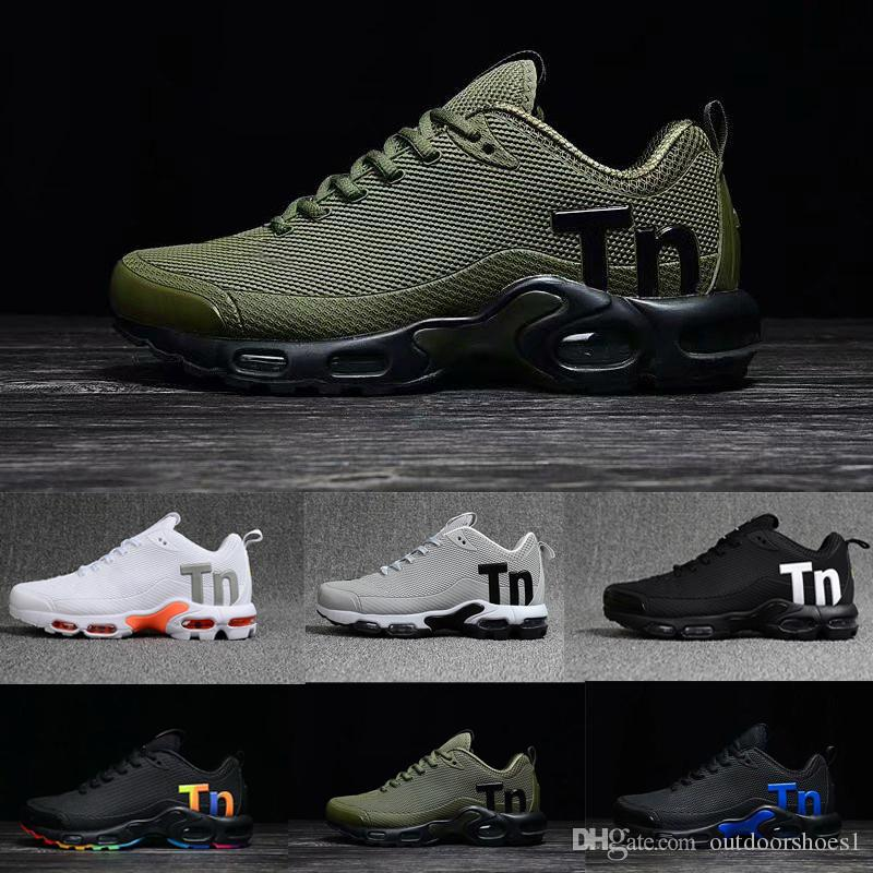 promo code 7fbf5 9cf35 Nike air max tn plus airmax tns 2019 t plus mens mulheres mercurial ultra  se preto branco orange desinger tênis de corrida das mulheres dos homens ...