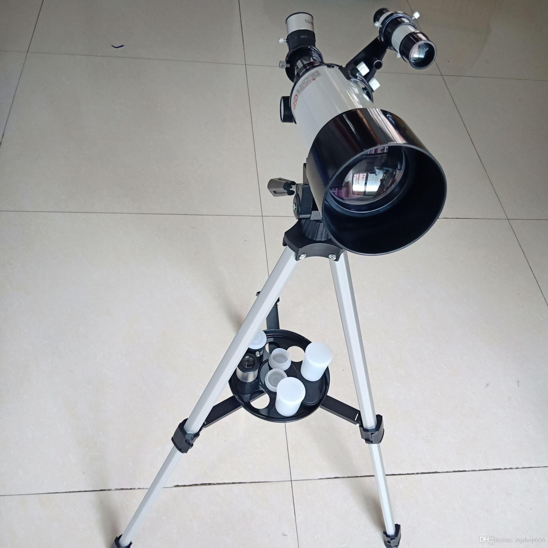 2020 fathion and inexpensive Student entry-level astronomical telescope,Passage diameter: 70mm Focal length400mm.f/4.3 Eyepiece:1
