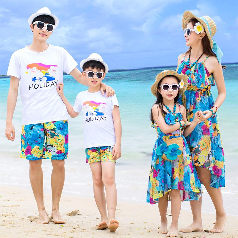 53ea84d04e Family Matching Clothes Father Mother Daughter Son Mom Mommy And Me ...