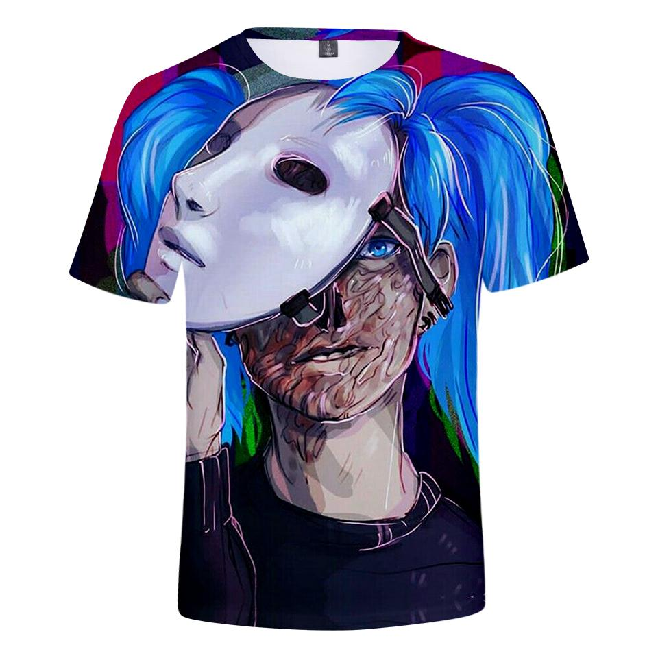 8abc82b3e6ce 2019 High Quality 3D Print Sally Face T Shirt Men Women Fashion Hot Game Summer  Short Sleeve Harajuku Sally Face Men S T Shirt Funny Clever T Shirts Best .