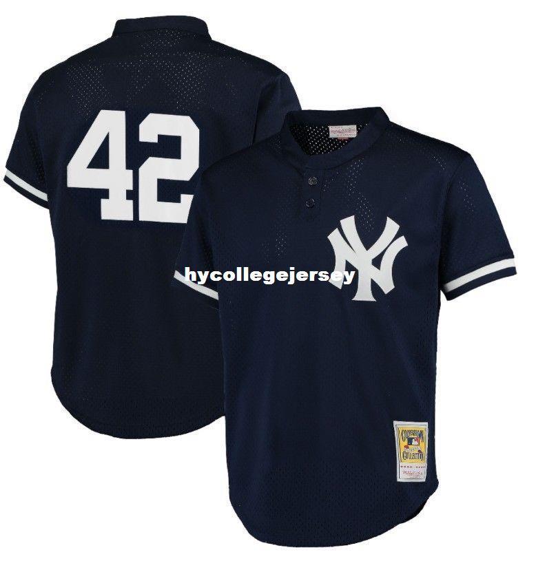 4b58fd91c yankees 42 mariano rivera stitched black baseball jersey  2018 cheap  mitchell ness new york 42 mariano rivera batting practice mesh jersey retro  mens ...