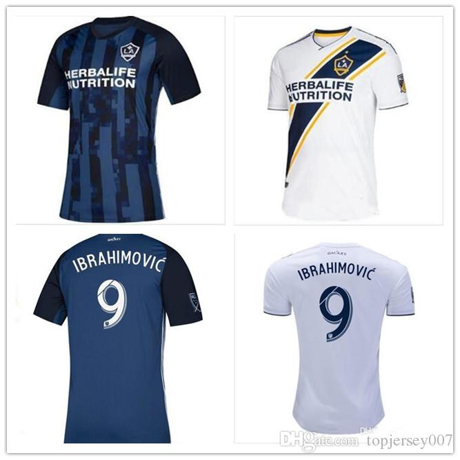 wholesale dealer c68a0 08bfb 2019 2020 La galaxy zlatan IBRAHIMOVIC football jersey 19 20 LA galaxy Blue  GIOVANI J.DOS SANTOS football shirt