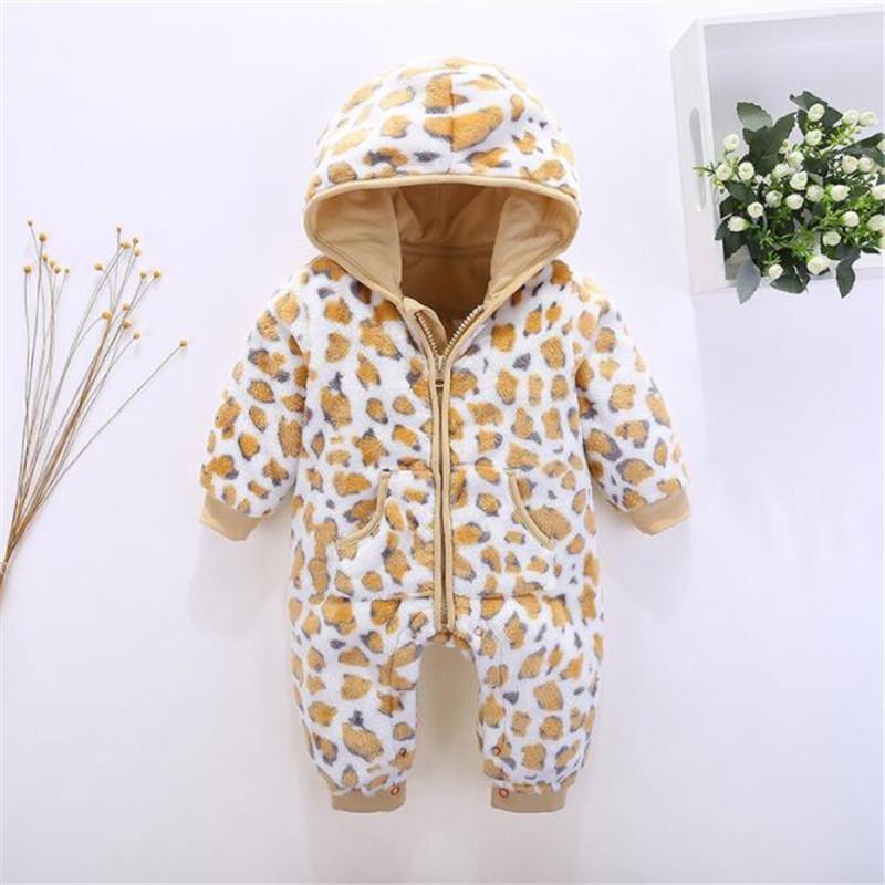 781cb242c545 2019 Good Quality Winter Baby Rompers Newborn Boys Girls Snowsuit ...