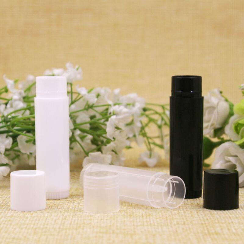 5ML Cosmetic Empty Chapstick Lip Gloss Lipstick Balm Tube