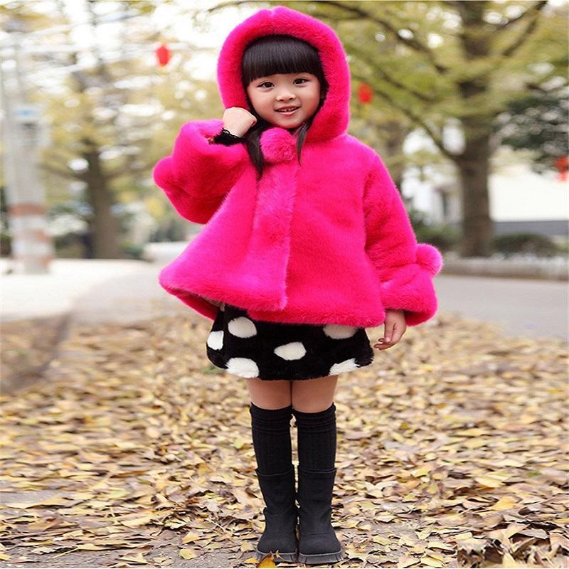 1d0d383db687 Retail 2019 Fashion Baby Girls Outerwear Coat Children Thickening ...