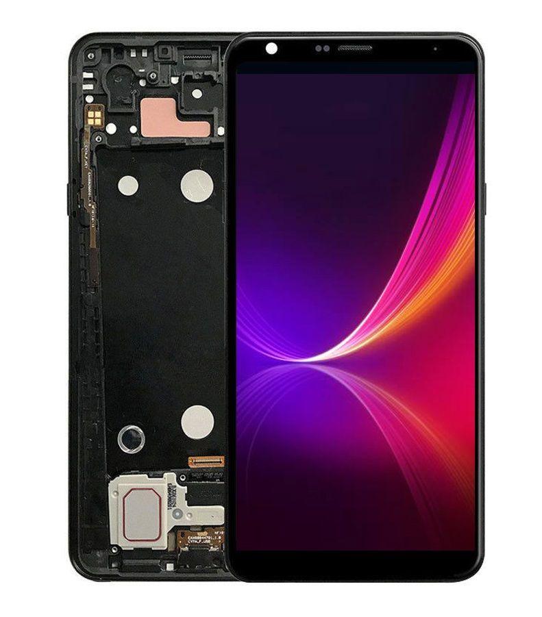 6 2 For LG Q Stylo 4 LCD Stylo4 Q710 Q710MS Q710CS LG Stylo 4 LCD Touch  Screen Assembly Digitizer Frame Q710 Screen