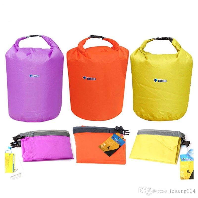 BLUEFIELD Waterproof Dry Bag 20/40/70L Dry Sack Outdoor Water Bag Camping Climbing Rafting Swimming Kayak Storage Travel Kit #208655