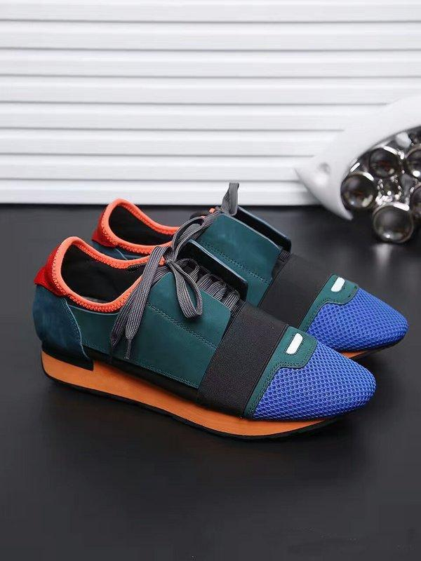 DESIGNER SHOES MENS CASUAL SHOES 2019 NEW BRAND CHEAP FASHION FLATS RUNNERS RACER LUXURY SHOES WOMENS N034