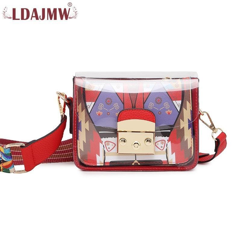 a44df66e47 Trend Winter New Original Design Ladies Hit Color Small Square Bag ...