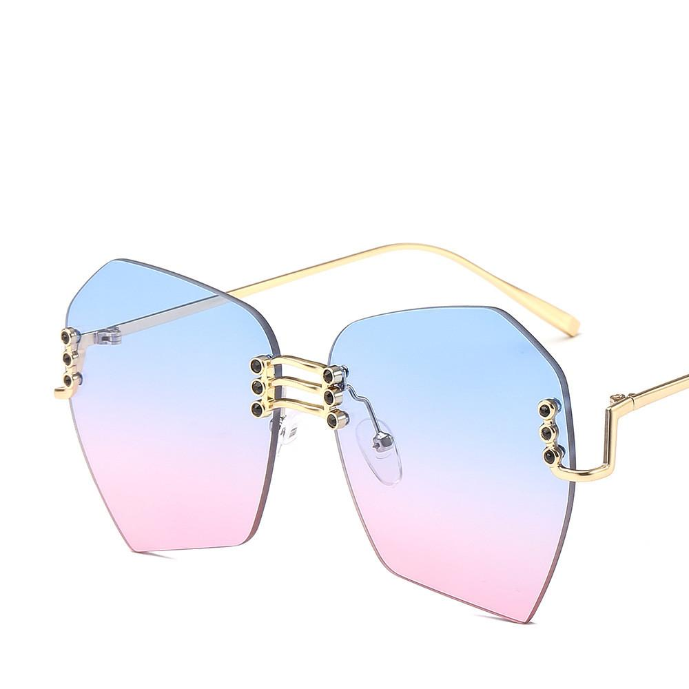 Sol 2019 De Gran Lujo Gradient Gafas Tamaño Marca Compre Moda sdCtQhr