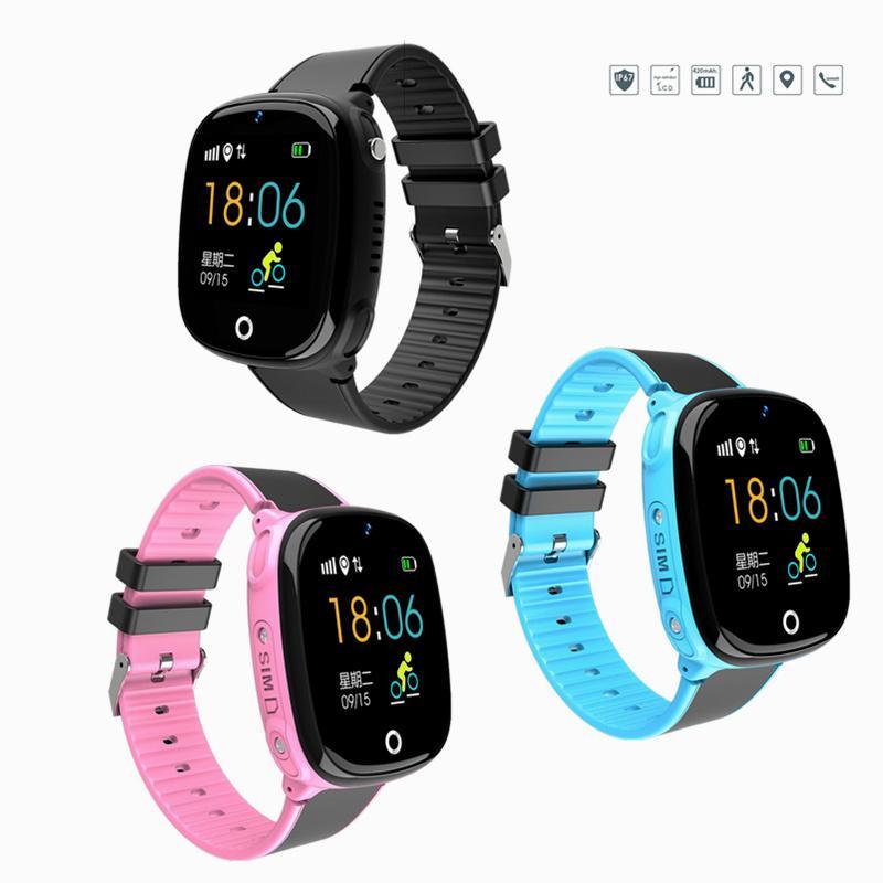 bbd07596b74 Kids Smart Watch With GPS Tracker SOS Children Connected Wrist Bracelet Sim  Card Call Function Camera Turkish Girl Digital Watch Wristwatch Best Smart  Watch ...