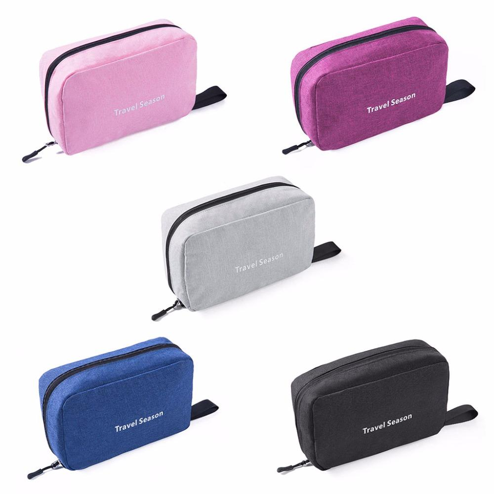23x9x15cm Travel Toiletry Bag Stationery Organizer Cosmetic Case Makeup Pouch Bag Hanging
