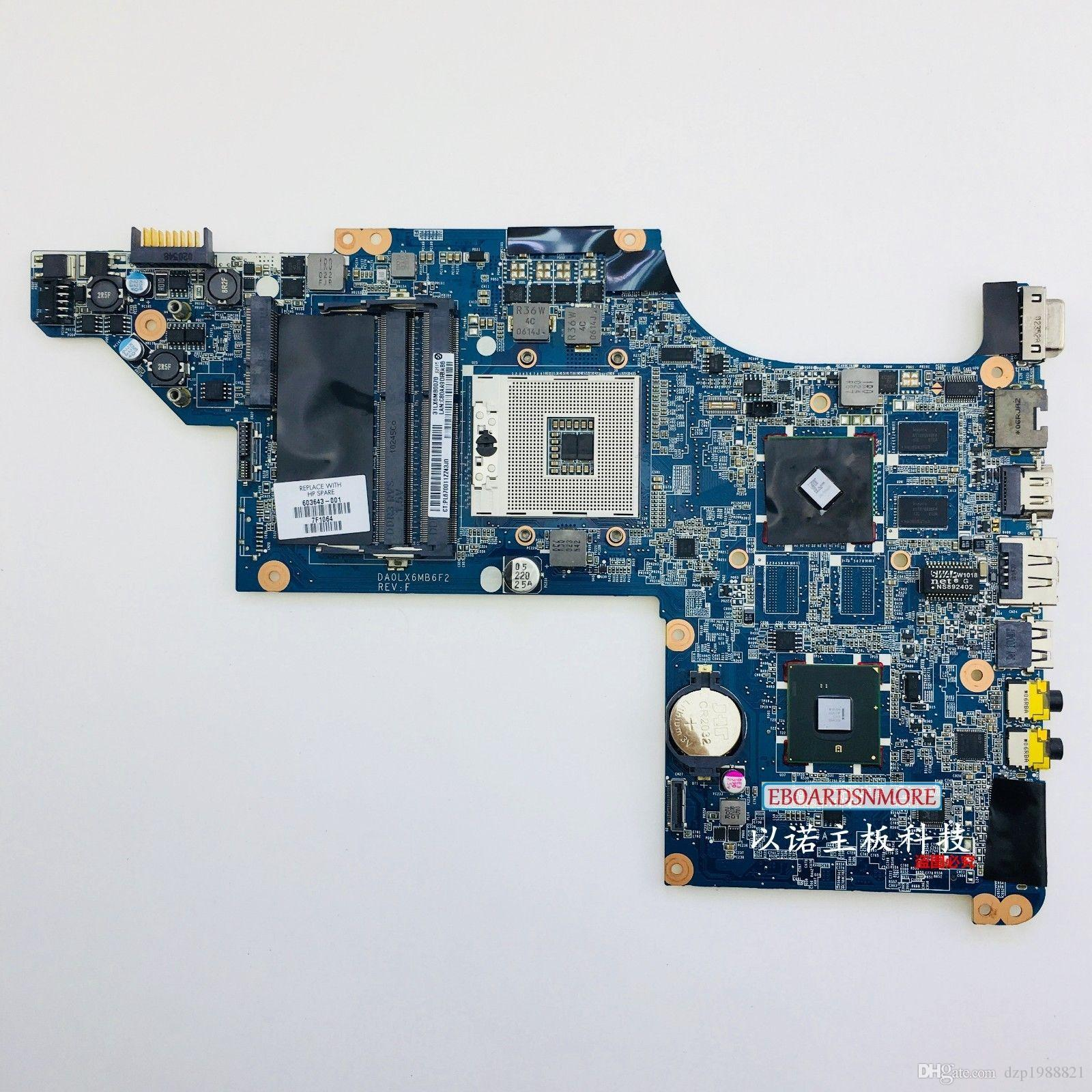 603643-001 for HP pavilion DV6 DV6T DV6-3000 motherboard with INTEL chipset 5470/512m