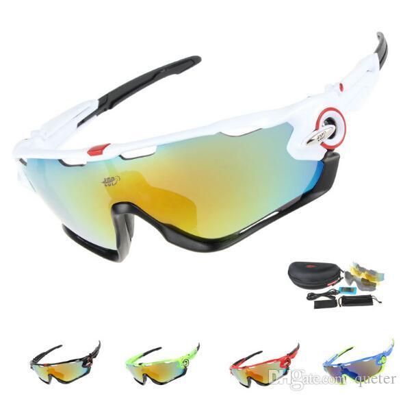 e1fe1e2b38 Professional Polarized Cycling Sunglasses Driving Fishing Outdoor Sports  Bike Goggles UV 400 3 Lens Sports Goggles POC Sunglasses Cycling Sunglasses  Online ...