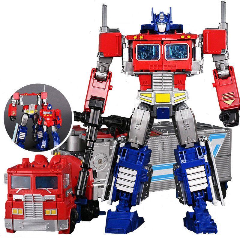 Alliage Figure Enfants Garçon Modèle Adulte Grande 6002 8 Jouets Action 30 Boîte D Anime Voiture Cm G1 Transformation Robot De Heimanba Cool UpGSVqzML