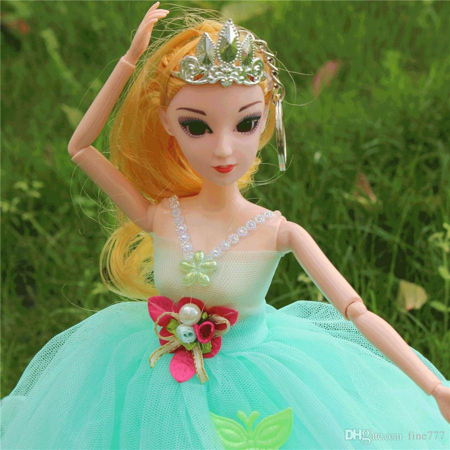 50CM Classic multi-layer wedding doll boutique toy confused doll wedding joint hand doll girl small gift lol