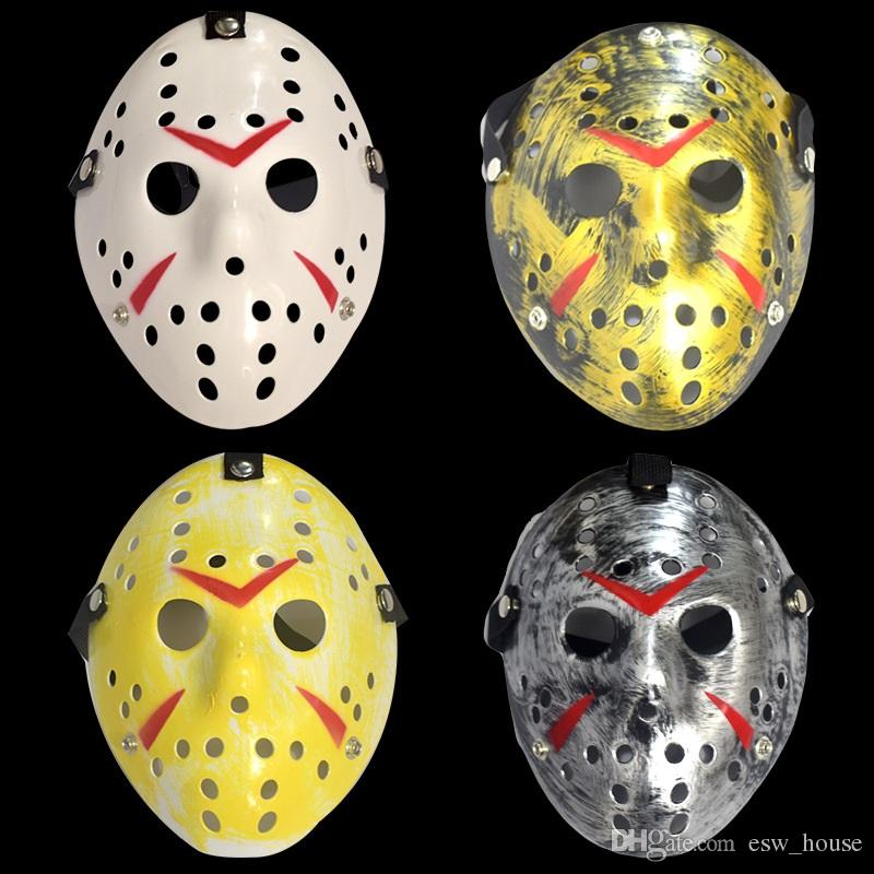 Jason Voorhees Masks The 13th Horror Movie Hockey Mask Scary